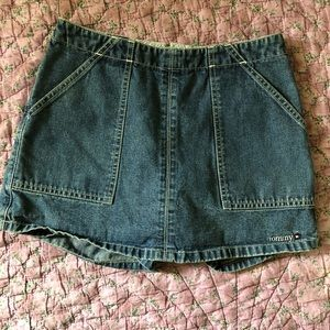 Tommy Hilfiger Jean Skort with star spellout